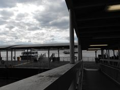 A view from the walkway in the midtown ferry terminal. @Vinod Pillai York Waterway