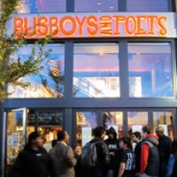 Busboys and Poets: located in Arlington, VA & Washington, D.C. enjoy a cup of coffee and listen to poetry..