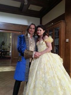 """""""Once Upon A Time"""" Mr. & Mrs. Gold's first dance."""