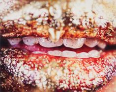 """farewell-kingdom: """" Hyper-realistic paintings by Marilyn Minter """" Museums In Ny, Debbie Millman, Marilyn Minter, Hyper Realistic Paintings, New Museum, Hyperrealism, Print Magazine, Up Girl, Pulled Pork"""