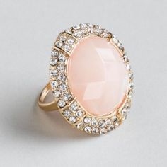 Pastel colored ring