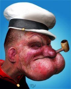 E se o Popeye fosse Real