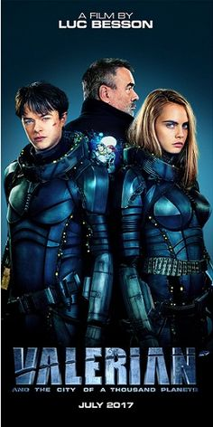 EL CINE QUE VIENE.: VALERIAN AND THE CITY OF THOUSAND PLANETS. (TRAILE...