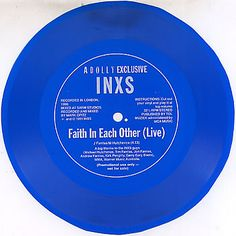 """For Sale - Inxs Faith In Each Other - Live Flexi Australia Promo  7"""" vinyl single (7 inch record) - See this and 250,000 other rare & vintage vinyl records, singles, LPs & CDs at http://eil.com"""