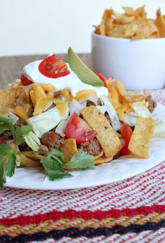 Frito Pie! Brings back memories of growing up in Albuquerque ;)