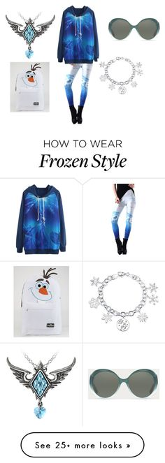"""Frozen ❄️"" by andreazorksimi on Polyvore featuring Disney and Bally"