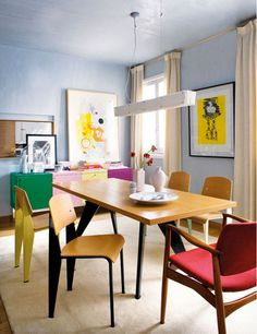 I'll take that bureau and those chairs thanks.   TheDesignerPad - The Designer Pad - SPANISH SPLENDOR