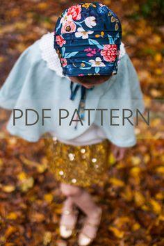 Lottie Bonnet PDF bonnet pattern newborn bonnet by JillyAtlanta