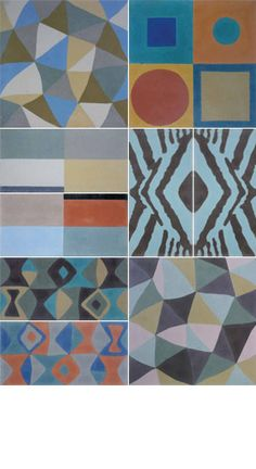 lg& (Laura Gottwald (like no 3)cement tiles