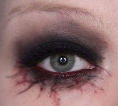 Makeup your Jangsara: Halloween tutorial: Scary sexy character Good.