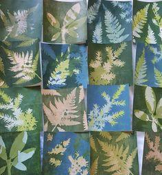 Printing with Gelli Plates, Leeds Events - Leeds TownTalk Sun Prints, Nature Prints, Leaf Prints, Gelli Plate Printing, Printing On Fabric, Gelli Arts, Plate Art, Leaf Art, Tampons