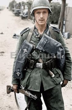 German soldier – Dunkirk France, summer of 1940 German soldier, summer 1940 Ww2 Uniforms, German Uniforms, German Soldiers Ww2, German Army, Germany Ww2, Ww2 Pictures, Panzer, Germany, Colleges