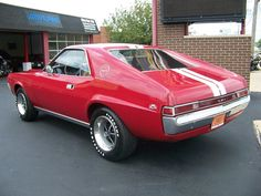 1968 AMC AMX Mine never looked this good.