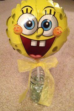 Spongebob party centerpiece