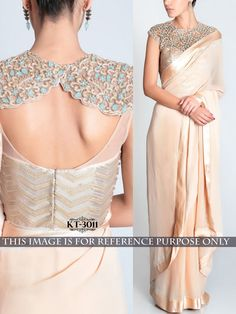 Beige+Color+Designer+Bollywood+Replica+Embroidered+Saree