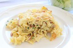 Schinkenfleckerl Cabbage, Pasta, Vegetables, Ethnic Recipes, Food, Noodles, Meal, Brick, World