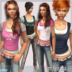 sims2sisters' S2S Collection No.270309 AF - Set