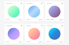 Des1gnon | Cores Gradientes - WebGradients