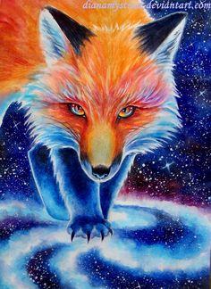 Fox era by DianaMysticat.deviantart.com on @DeviantArt