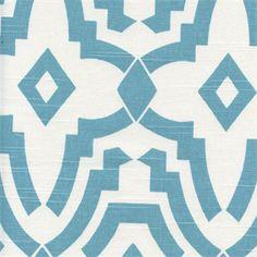 Chevelle Coastal Blue Slub Contemporary Drapery Fabric by Premier Prints