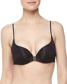 Pin for Later: The Only 17 Pieces You'll Ever Truly Need in Your Underwear Drawer A Push-Up Bra For when you want a little boost.  Chantelle Irresistible Push-Up Bra, Black ($74)