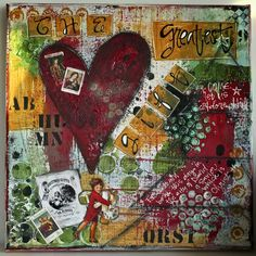 grenouille studio chien: Mixed Media