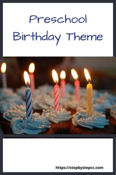 Step By Step Child Care and Preschool Birthday Theme.  Birthday books, songs and fingerplays, arts and crafts, recipes, and more.  Birthday activities for parents, homeschools, daycares, and preschools.