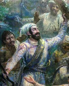 King Shivaji Lion Wallpaper, Shiva Wallpaper, Shivaji Maharaj Painting, Shivaji Maharaj Hd Wallpaper, Warriors Wallpaper, Great Warriors, History Of India, Krishna Painting, Great King