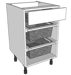 1000 images about pull out storage units on pinterest for Kitchen base unit shelf