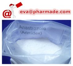 Oral Anastrozole Arimidex Raw Powder Anti-estrogen Steroids Post Cycle Therapy Breast Cancer Treatment USP32    Email ID:eva(at)pharmade.com skype ID:eva.pharmade    Product Details:    Alias: Arimidex Anastrozole
