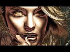How To Turn a Photo into Golden Statue using Photoshop - YouTube