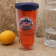 New York Mets Tervis 24oz. Logo Tumbler Pro with Lid  - - $21.59