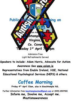 #WAAD events, Virginia, Co. Cavan #autism