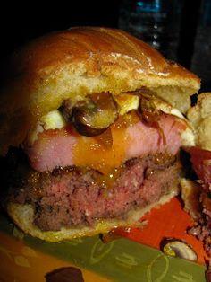 Ted's Montana Grill Kitchen Sink Bison Burger