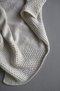 Cozy Corners Crib Blanket | Purl Soho