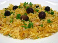 Receitas práticas de culinária: Bacalhau à Brás Super Rápido