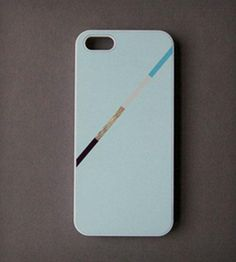 Line Color Block on Light Mint iPhone 5 Case | $22 on ScoutMob
