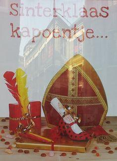 Sinterklaas raamreclame