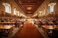 Bibliothèque publique de New-York, USA