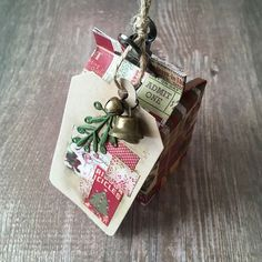 Look at this magnificent craft from  @fredrikkeap.  Adorable, absolutely adorable!  Ok...back to your crafting adventures! . . . #bazzillbasics #tag #christmascrafts