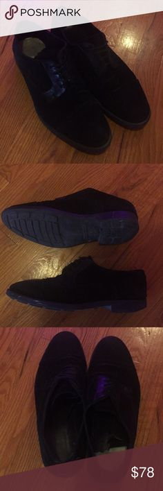 Zara Men's Dress Shoes 👞 Suede/Leather upper sole. Worn well. Inside lining is starting to peel. In otherwise great condition (especially from outside!) Zara Shoes Oxfords & Derbys