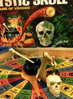 Mystic Skull board game, 1960s