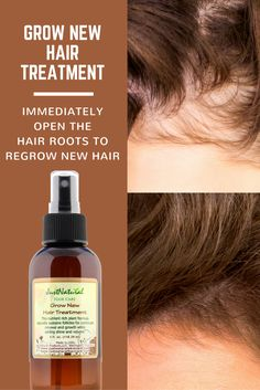Fast fix for thin, weak hair. Reverse hair damage. Regrow new hair. Encourage your hair to grow faster longer, fuller with less breakage with this nutrient rich formula naturally sustains follicles for continued renewal and growth of healthy hair. This formula helps your follicles remain healthy and encourage theme to come back into a healthy growth cycle.
