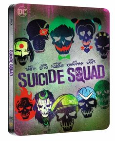 Suicide Squad: Extended Cut - Limited Steelbook (Blu-ray) (2 disc)