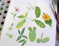 Criações em papel e tinta aquarela da artista Beatriz Watanabe, Rio de Janeiro. Portfólio, dicas sobre técnicas e cores, pinturas, histórias, blog e loja virtual.