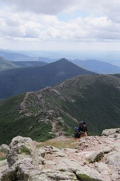 The Ridge. New Hampshire- White Mountains. Done this hike many times.
