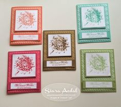 Siara Sweet Sensations: 2015 Last Chance List (Retiring List)....Blooming With Kindness and Stampin' Up!'s 2013-2015 In Colors