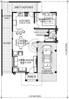 Kitchen Floor Plan with Dimensions. 20 Kitchen Floor Plan with Dimensions. One Wall Kitchen Dimensions – Kayleehomedecor 2bhk House Plan, Model House Plan, Duplex House Plans, Bedroom House Plans, Small House Plans, House Floor Plans, 2 Storey House Design, Duplex House Design, Two Storey House