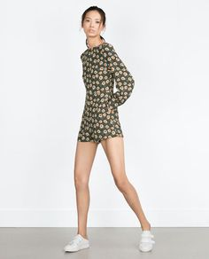 Image 1 of PRINTED PLAYSUIT from Zara