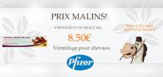 Prix les moins chers de France sur les vermifuges pour chevaux grâce à vetomalin.com !